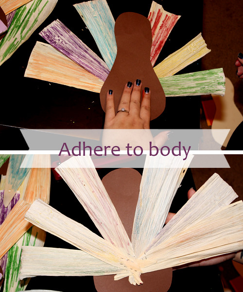 adhere to body