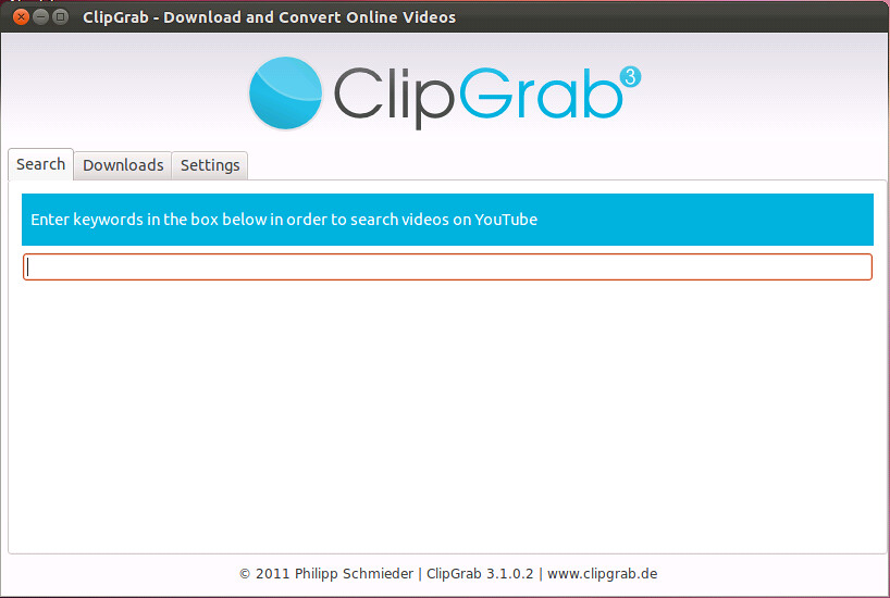 ClipGrab for Ubuntu - Download and Convert Videos - NoobsLab