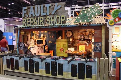 Faulty Repair Shop shooting gallery