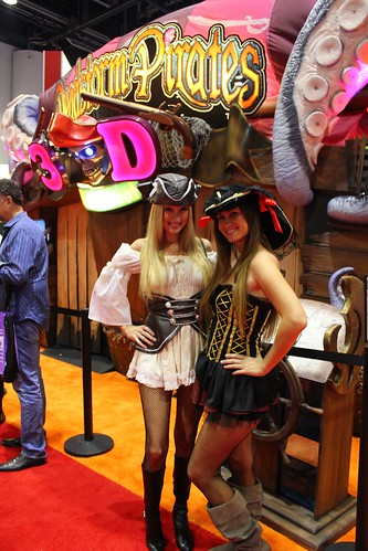 3D Pirates girls