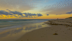 Cottesloe Sunset (timcorbin) Tags: ocean seascape colour clouds canon australia perth cottesloe 550d