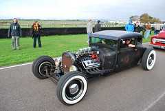 RAT ROD (dale hartrick) Tags: wheel breakfast club four rat five and rod drives today goodwood 06112011