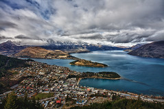 Queenstown panorama (MarkMeredith) Tags: newzealand nz otago queenstown remarkables lakewakitipu