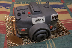 Nikon D90 cake for my birthday ! (~ Kero ~) Tags: birthday friends amigos cake fun reflex nikon funny sweet chocolate pastel awesome sugar decorating bakery cumpleaos choco azucar divertido pasteleria d90 reposteria