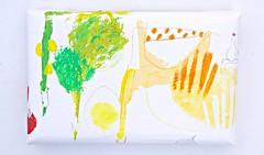 Yasai no iroenpitsu (2012) Oil on canvas, coloured pencil 240x160x40mm (mayakonakamura) Tags: house pencil painting tomato tokyo salad sticks beans vegetable canvas lettuce asparagus carrot oil daikon mayonnaise coloredpencil nakamura mayako boiledegg soloshow theneighborhood semiabstract echoann