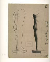26_childs_leg_rear_view (Martin E. O'Connor) Tags: life sculpture print greek drawing traditional plaster size cast realist classical plates sight barge atelier palte bargue sightsize