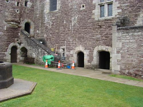 Doune Castle, 1 augustus 2011